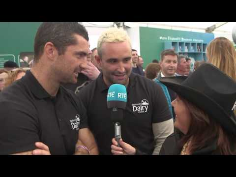 Brenda meets Dave and Rob Kearney | RTÉ at the National Ploughing Championships 2016