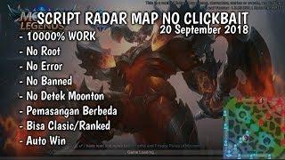 Work 100%!! Script Radar Map Mobile Legends Terbaru!! Patch THAMUS 20 SEPTEMBER 2018
