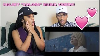 "Couple Reacts : Halsey ""Colors"" Music Video Reaction!!!"