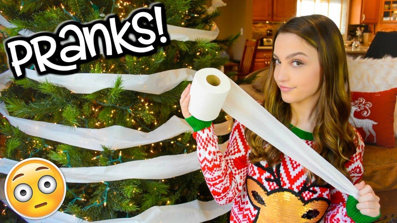 Christmas Pranks.Christmas Pranks For The Holidays Sibling Prank Wars