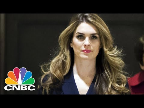 Hope Hicks Resigns As White House Communications Director Says New York Times | CNBC
