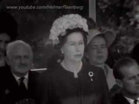 Queen Elizabeth II dedicates John F. Kennedy Memorial at Runnymede