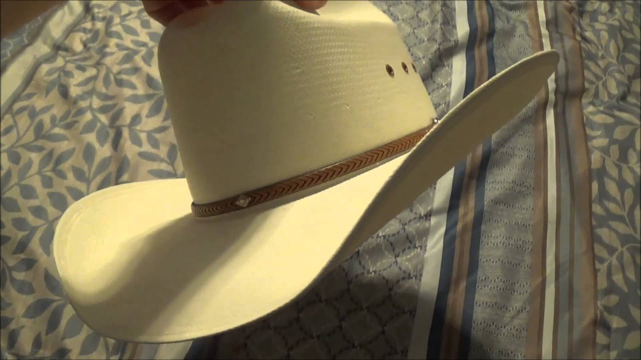 George Strait Resistol Cowboy Hat   A closer look and why I wear it ... ad5ddbe9e47