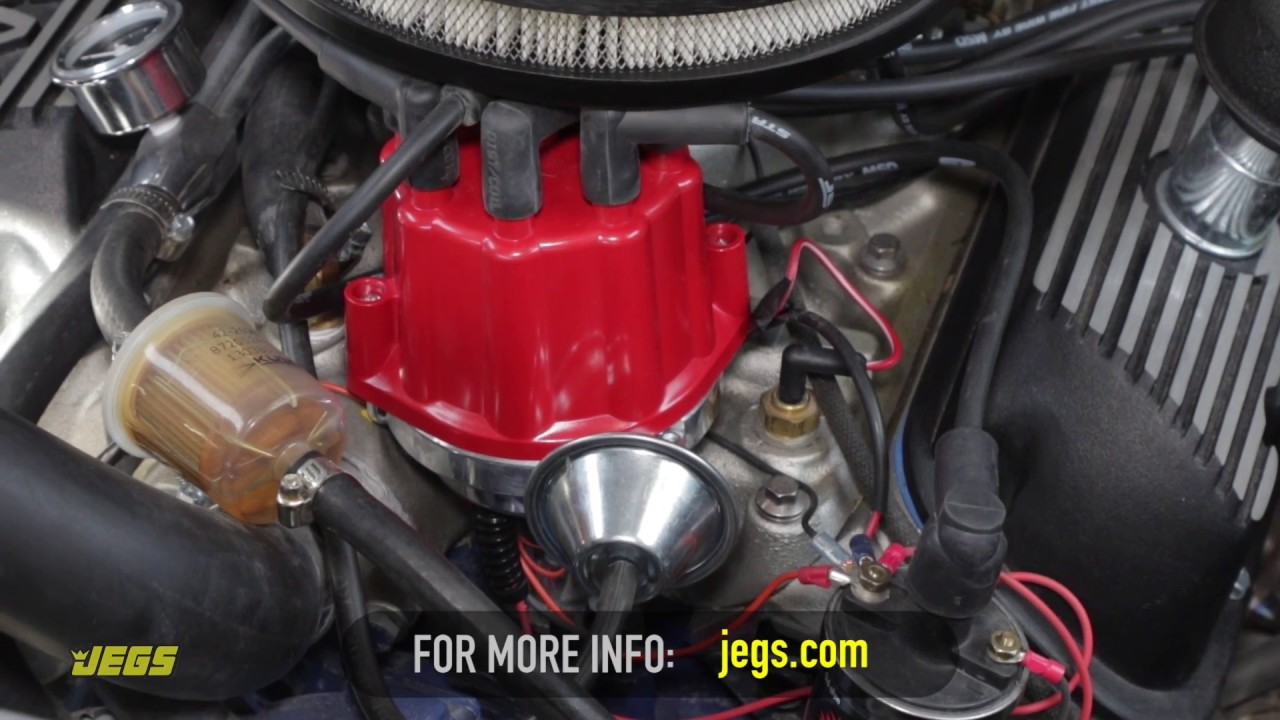 How to Install an Engine Ignition Distributor, Set Timing