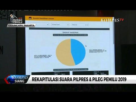 [TERBARU] Rekapitulasi Suara Pemilu 2019, 14% Data Pilpres Sudah Masuk Situng