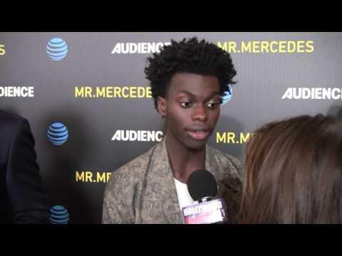 MR. MERCEDES Premiere - Tim Johnson Jr. INTERVIEW
