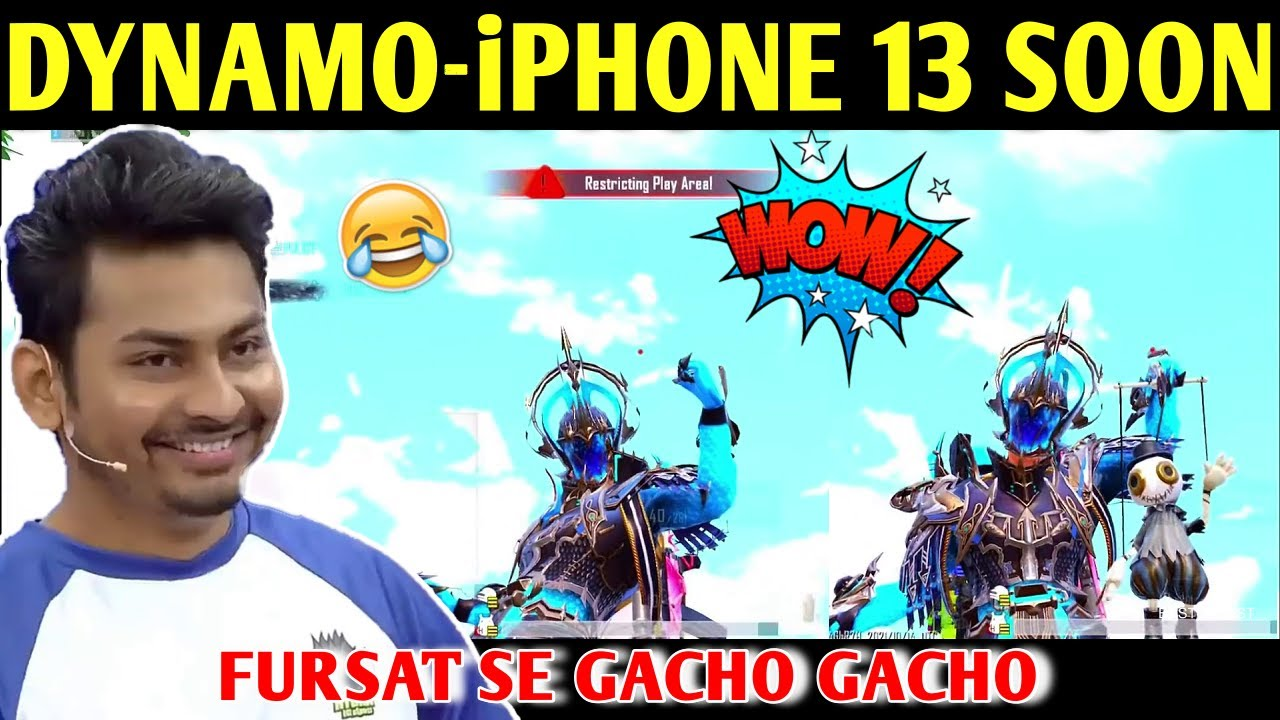 DYNAMO - iPHONE 13 FROM DUBAI SOON   BATTLEGROUNDS MOBILE INDIA   BEST OF BEST