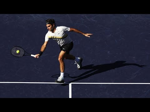 Roger Federer HOTSHOT Indian Wells 2018