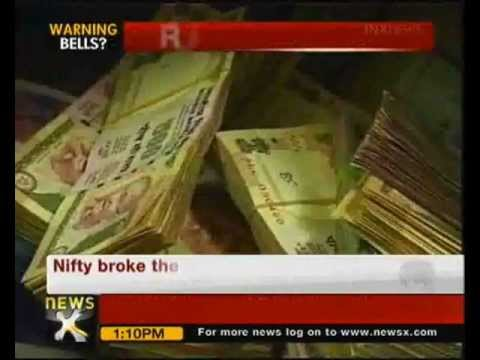 Rupee hits 4-month low, trading at 53.81 against dollar - NewsX