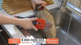 Электрическая рыбочистка «Минутка». Как быстро и легко почистить рыбу? Электрорыбочистка domatv.ru