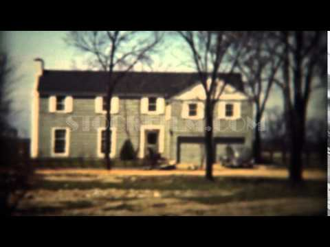 1937: Colonial style architecture modern house in wooded rural country.  TRYON, NC