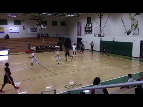 Joshua White #31: Strong Forward - Bishop Sullivan Catholic High School 2015-16
