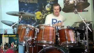 Drum cover: Creedence Clearwater Revival - Run Through the Jungle