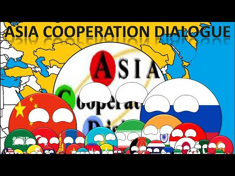 History of Asia Cooperation Dialogue in Countryballs