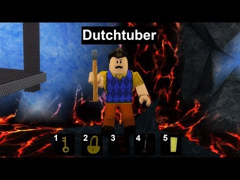 HELLO NEIGHBOR IN ROBLOX! *IK BEN HEM*