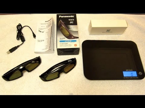 Panasonic Full HD RF 3D Glasses - Active RF = Bluetooth - 2012 VIERA TVs - TY-ER3D4ME & TY-ER3D4SE