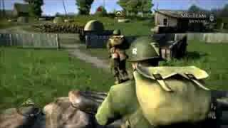 Brothers in Arms Hells Highway Ps3 gameplay
