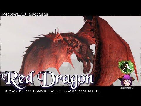 Archeage Red Dragon Karkasse Ridgelands Youtube