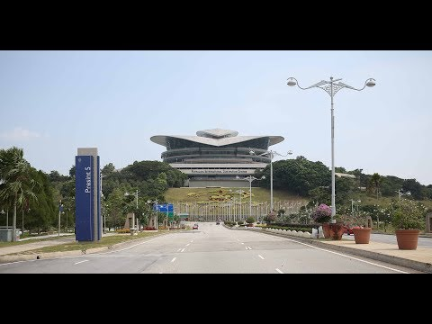 Roads in Putrajaya, Malaysia