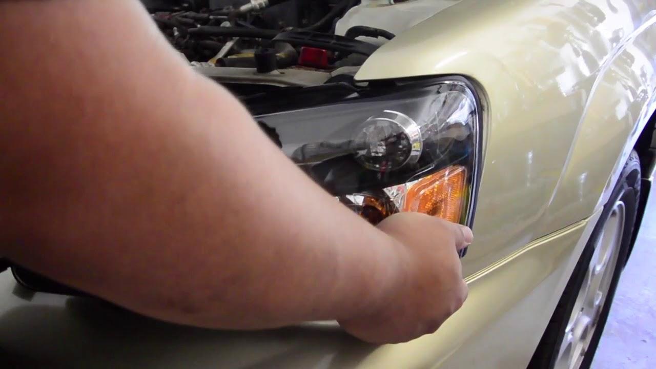 MOSTPLUS 6000K White CREE H4 Headlight Kit Installation: 03-05 Subaru  Forester