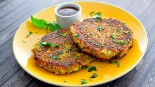 Vegan Crispy Zucchini Pancakes
