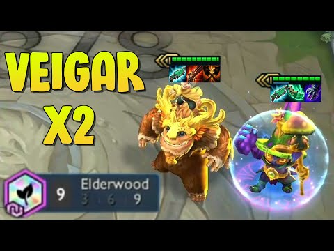 DOUBLE Veigar in 9 Elderwood