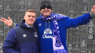 Goodison trip for Arsenal w Everton USA!