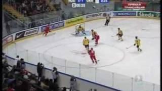 9 голов русских хоккеистов сборной Украины на ЧМ 2007 года