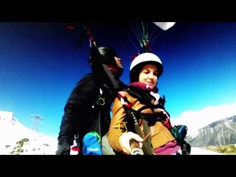 Paragliding Kids France Charmonix