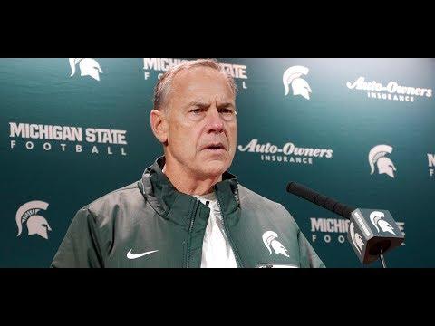 MSU Coach Mark Dantonio Post Loss to Ohio State
