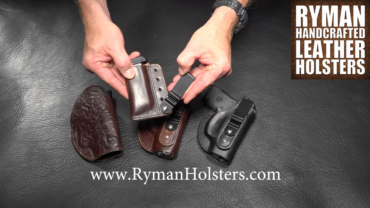 Boot Holster by Ryman Holsters
