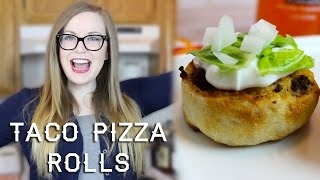 Taco Pizza Rolls Recipe | Parejeda