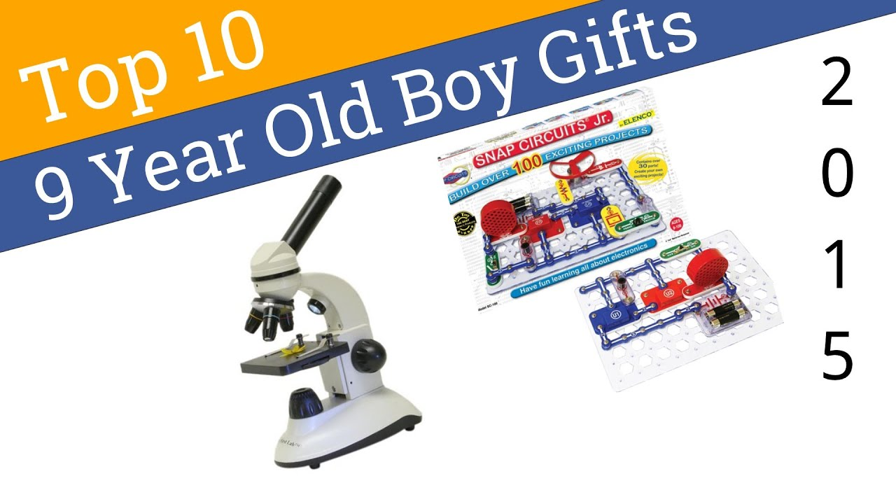 10 Best 9 Year Old Boy Gifts 2015 - YouTube
