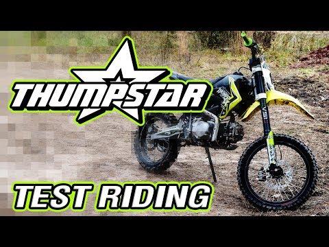 Thumpstar Pit Bike 140cc and 160cc Testing at GPMX!