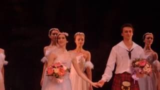 """""""La Sylphide"""", Olesya Novikova, Filipp Styopin, Salzburg"""