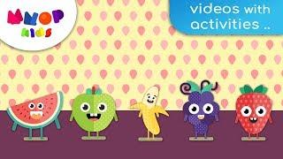 5 Favorite Fruits - Fruit Songs | Children Songs | Kids Songs