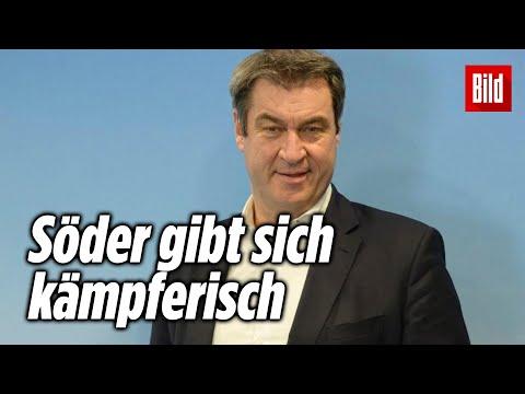 Darum will Markus Söder will Kanzlerkandidat der Union werden   Exklusives BILD-Interview
