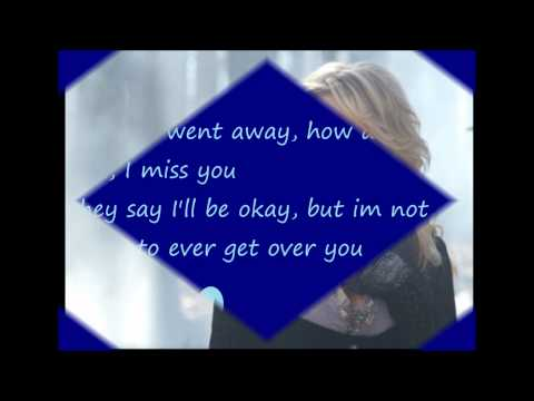 Miranda Lambert- Over you With lyrics