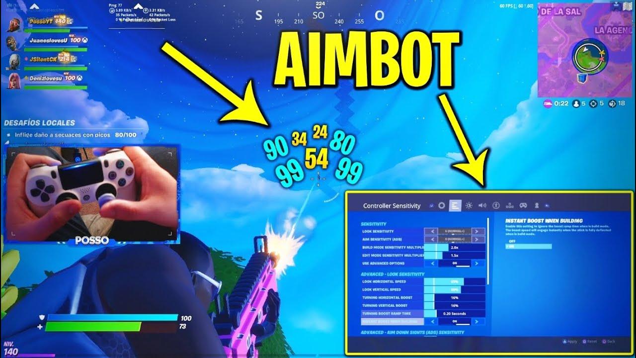 What Is Aimbot Fortnite Mi Aimbot De Mando A 60fps Parece De Hacker Sensibilidad Fortnite Ps4 Xbox Switch Pc Aimbot Youtube