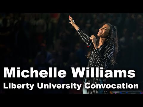 Michelle Williams  Liberty University Convocation