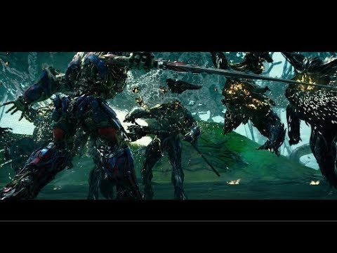 Transformers 5 (2017) Optimus Prime vs Infernocus (HD Latino)
