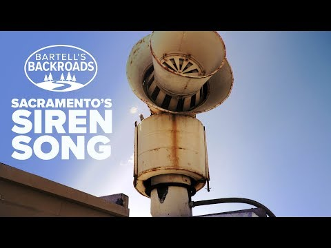 Sacramento Cold War Air Raid Siren Brought Back To Life For Final Encore | Bartell's Backroads