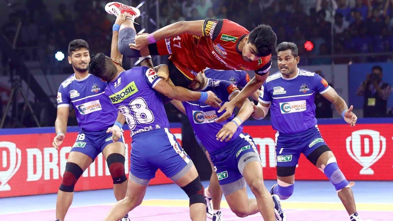 Download Pro Kabaddi 2019 Highlights   Bengaluru Bulls vsHaryana Steelers   M118