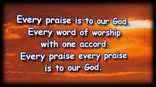 Every Praise with In The Sanctuary - Mike Speck - Worship Video with lyrics