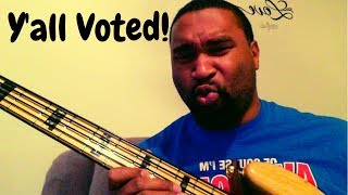 Theory Bass Lesson: Lick (Y'all Voted)