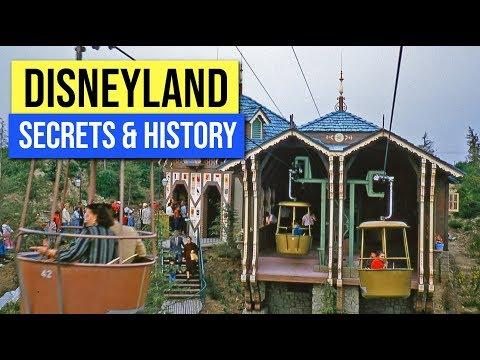 Disneyland Skyway | Abandoned Disneyland | Disneyland Secrets And History