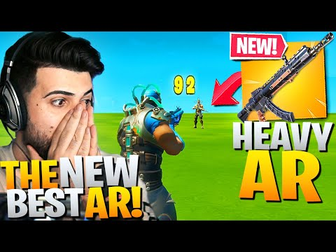 I Got EARLY ACCESS To The *NEW* Heavy AR! (New Best AR!?) - Fortnite Battle Royale