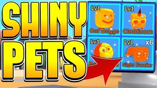 NEW MYTHICAL SHINY PETS UPDATE IN ROBLOX MINING SIMULATOR!