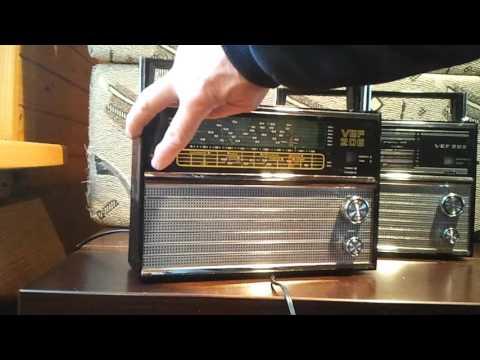 VEF 202 - FM диапазон 88-108 MHz