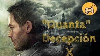 """QUAUNTUM BREAK """"QUANTA"""" DECEPCIÓN / Vídeo Opinión / ULTIMATE JUEGOS"""